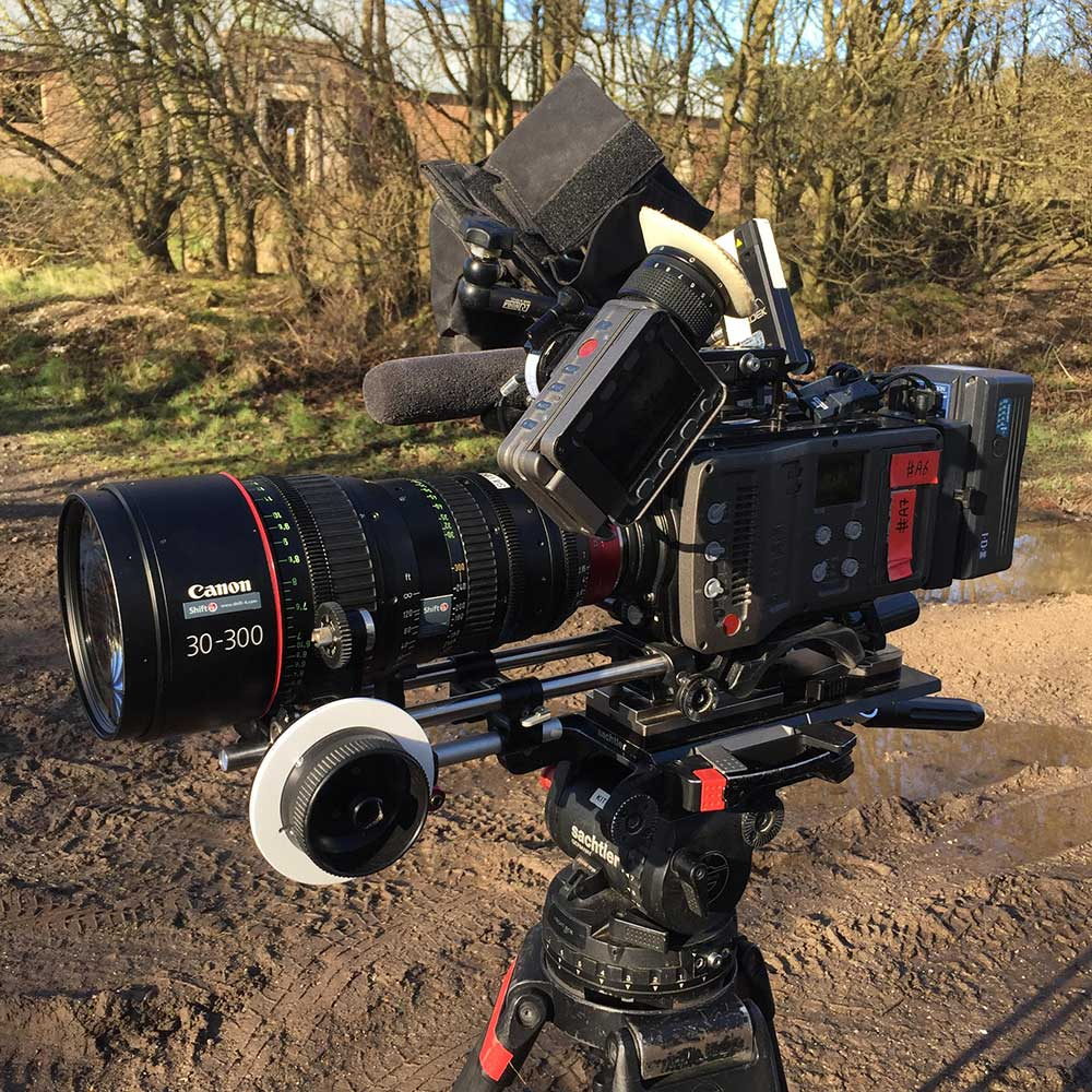 The 'workhorse' ARRI Amira with one of the Canon lenses favoured by Ben Joiner.