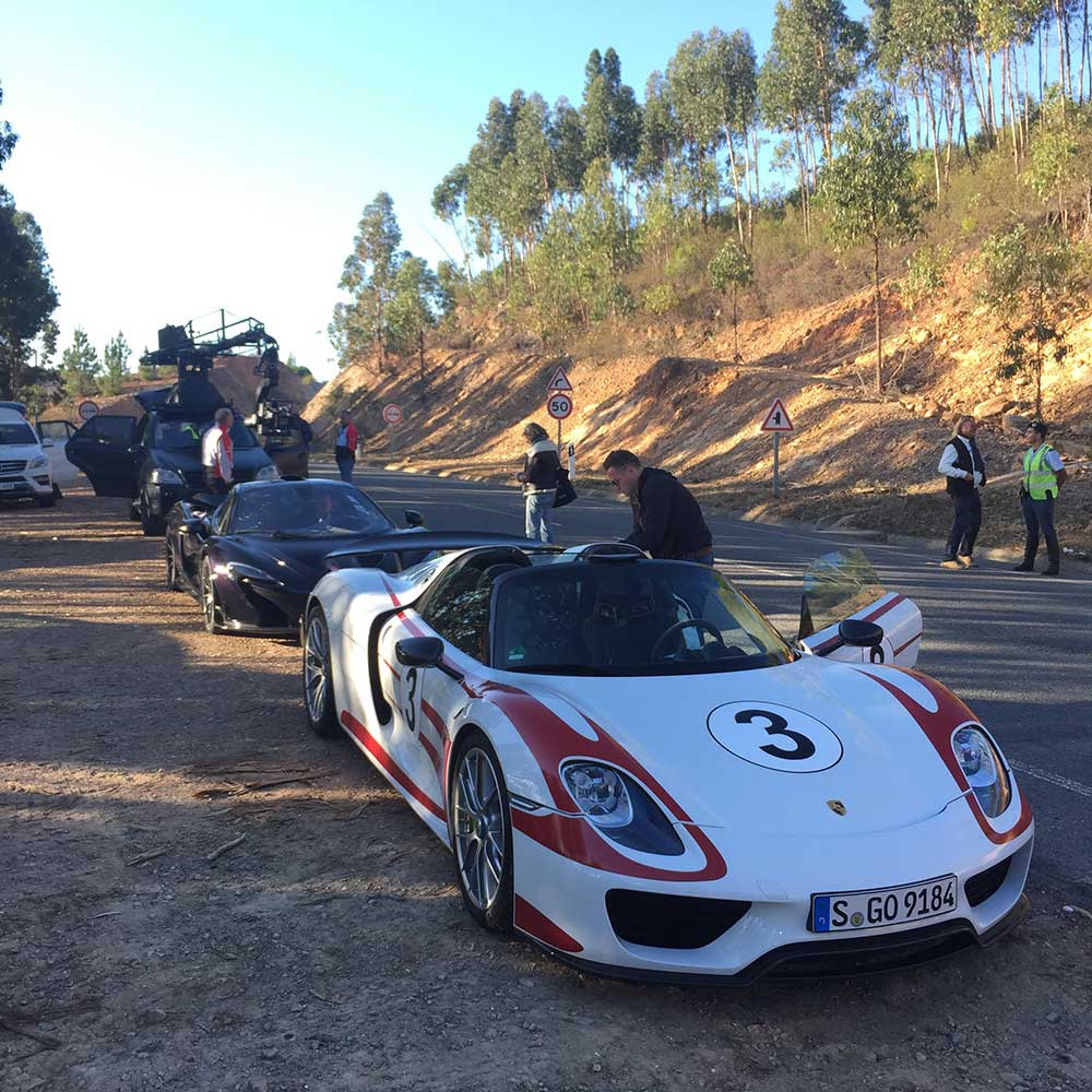 The famous 'trio' of hypercars take a break from the first Episode of The Grand Tour.