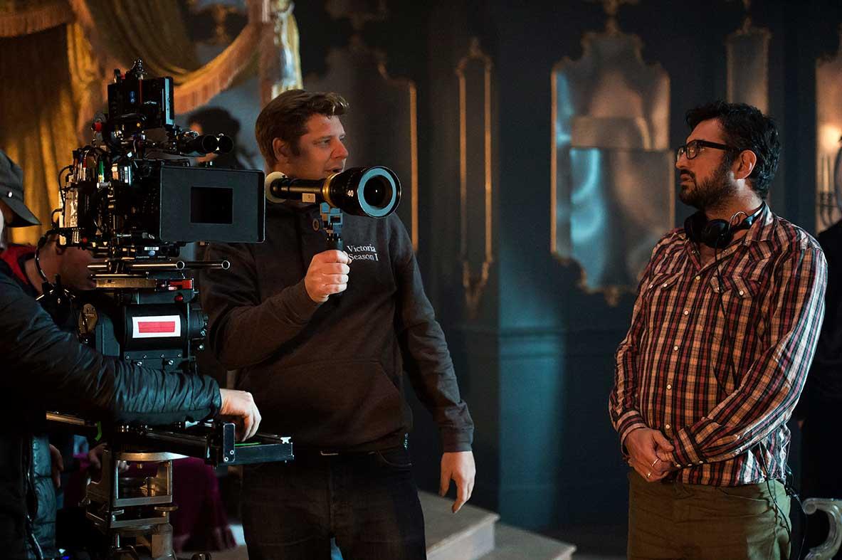 DOP John Lee and Director Ollie Blackburn.