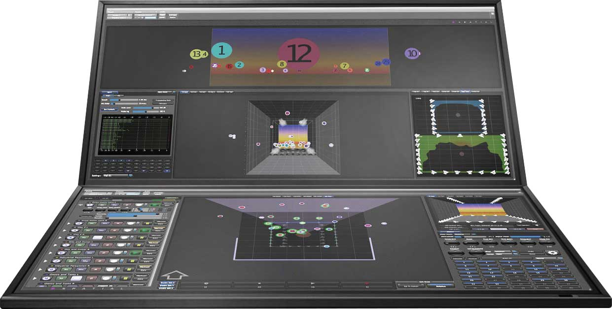 DSpatial's dual monitor virtual approach to sound mixing