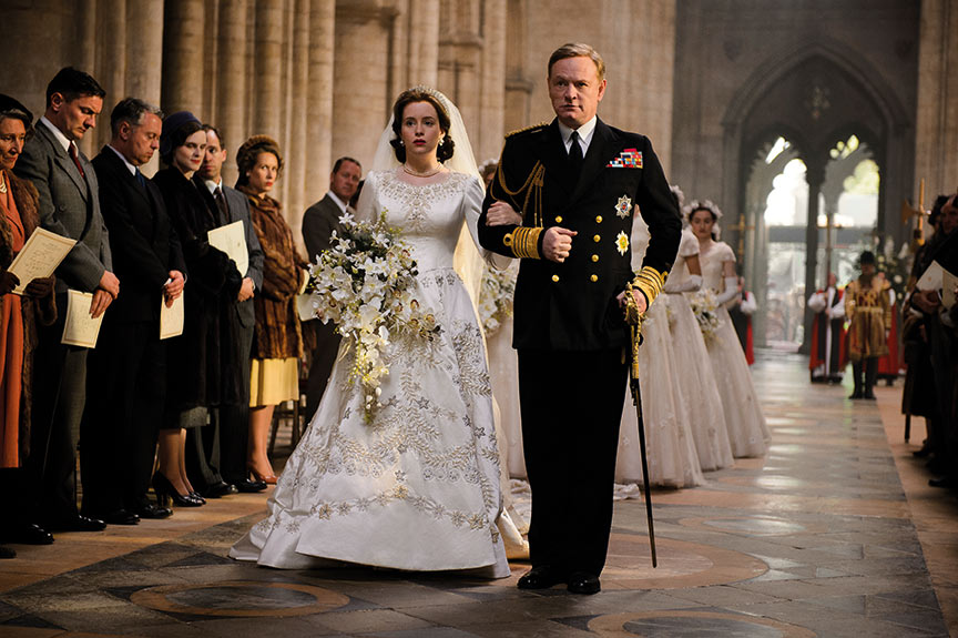 Princess Elizabeth's wedding in Westminster Abbey (Ely Cathedral substituted) needed a massive and no-risk light solution. Airstar's Balloon lights lit 75m of the nave with two 16K HMI tubes and one 8K HMI Ellipse.
