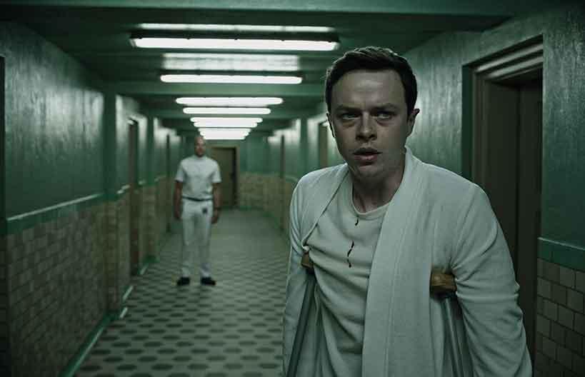 Dane de Haan as Lockhart in the film's mysterious 'wellness centre'.