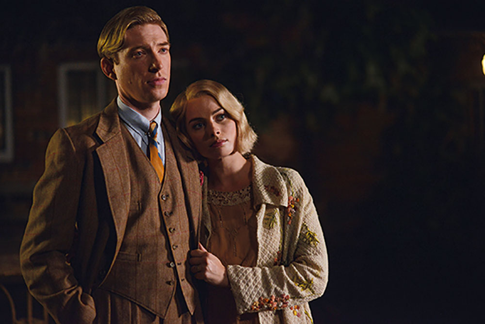 Domhnall Gleeson and Margot Robbie star as Alan Alexander and Daphne Milne.