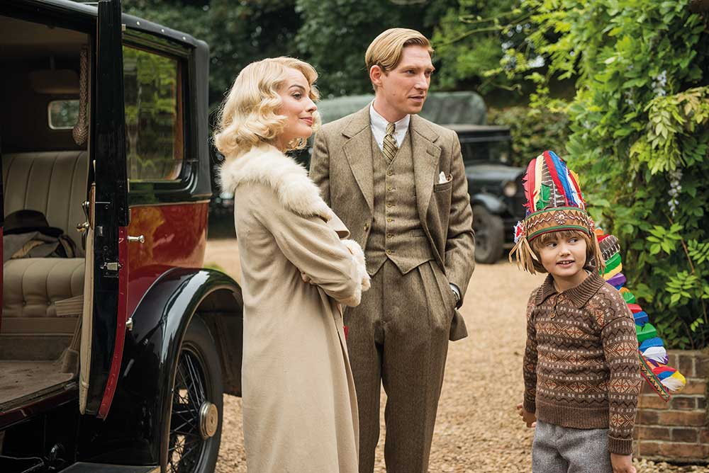 Some intimate, handheld moments enabled Domhnall, who plays A.A. Milne, to experiment with different emotions.