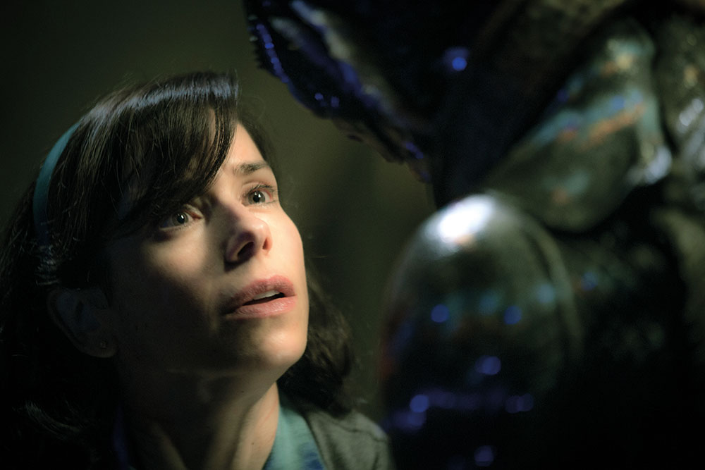 Dan wanted Sally Hawkins' character to look as if she has 'this glow coming from inside'.