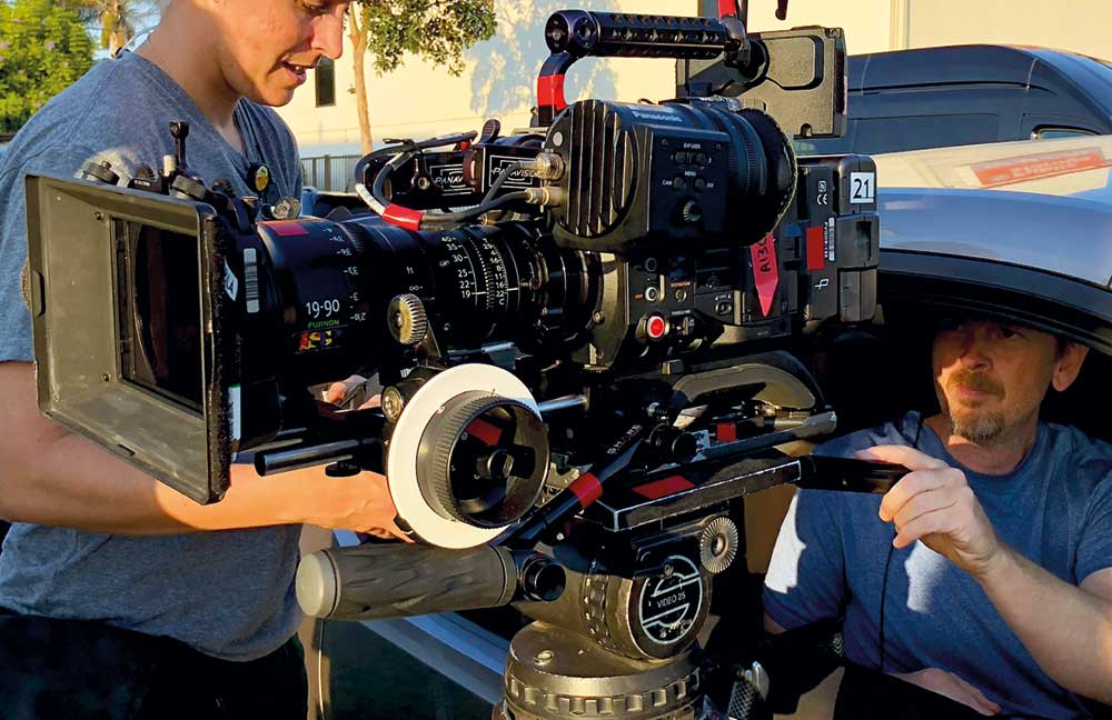 A 20-minute scene with the Fujinon Cabrio and Panasonic VariCam LT combo isn't tiring reports DOP Patrick Stewart.