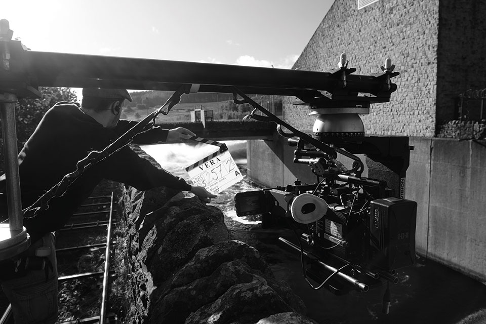 Using the ALEXA Mini made it easy to get into tight spots on location.