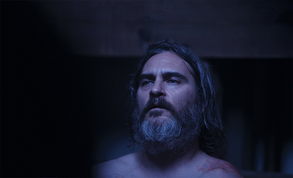 Joaquin Phoenix showed admirable lack of vanity, and was not concerned by how he was lit.