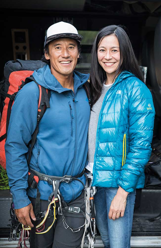Director Jimmy Chin and with co-Director Elizabeth Chai Vasarhelyi.