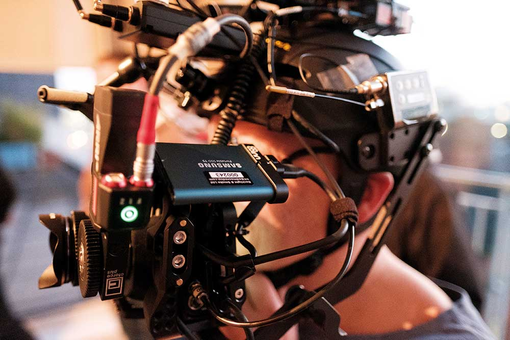 ABOVE The Samsung Portable SSD T5 drive gives Ed about 90 minutes of 4K shooting. © Ed Moore.