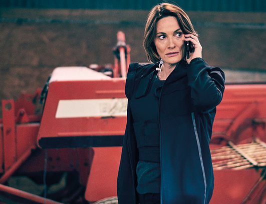 "Sarah Parish stars as Dectective Superintendent Elizabeth Bancroft in series two of ITV's ""very night-based"" Bancroft."