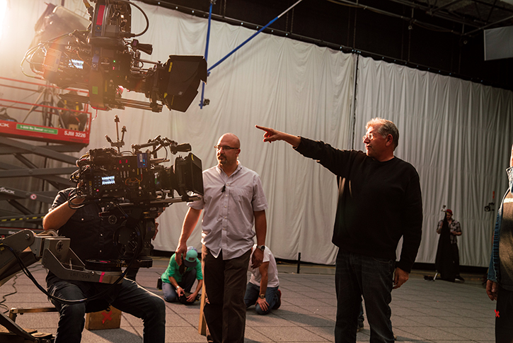 Robert Zemeckis   directs with two ARRI Alexa 65 cameras for  Welcome To Marwen.