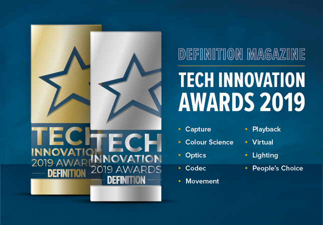 Our Tech Innovation Award winners will be announced at this year's Cine Gear LA.