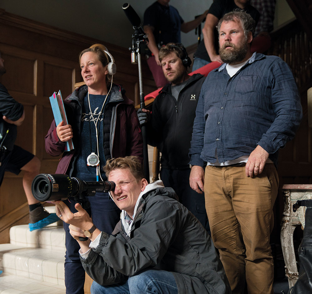 DOP George Steel with the director, Tom Harper