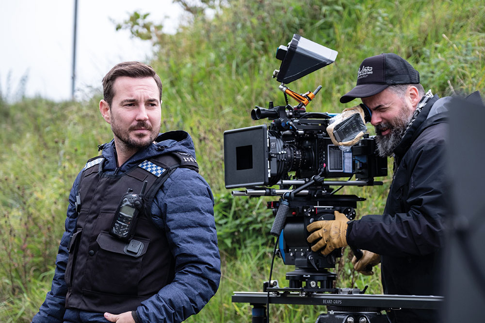 Season 5 was shot on Arri Alexa Minis with Ultra Primes and Hawk zooms