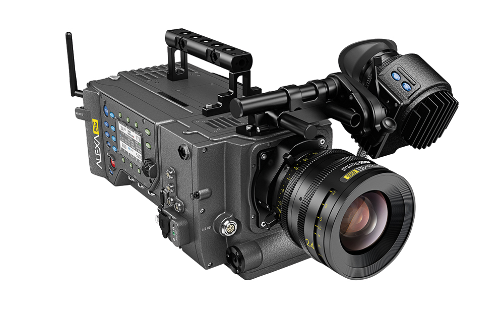 The Arri Alexa 65 camera was originally conceived as a plate camera for VFX