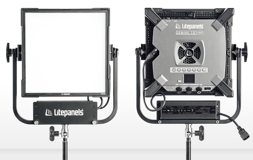The new 1 x 1 soft light has four modes: CCT mode for daylight and tungsten with fine tuning; HSI mode to create colour in the 360° colour wheel; Gel mode to dial up gels, and Effects mode for creative lighting effects. PRICE £2340/$3067