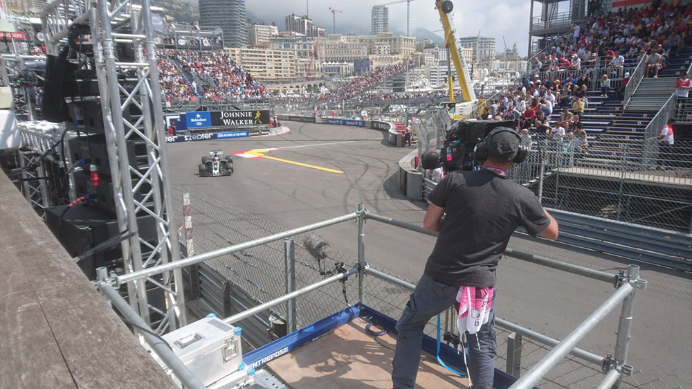 Formula One has always been at the forefront of broadcast capture technology