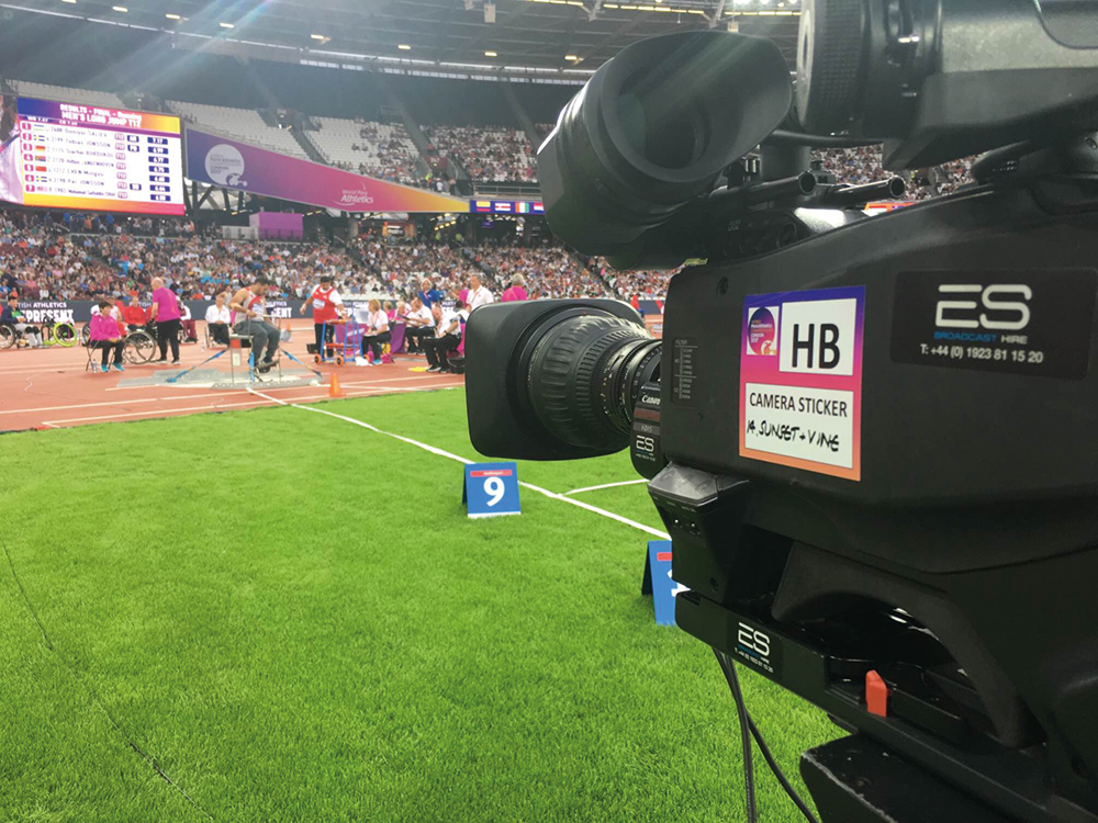 Next year's Olympics is a UHD HDR standard broadcast across all venues