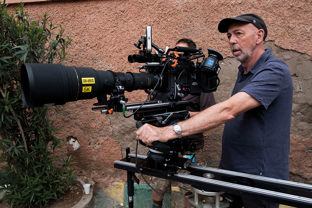 Dryburgh chose the Alexa XT with a Sigma 300-800mm stills lens as part of the Morocco shoot
