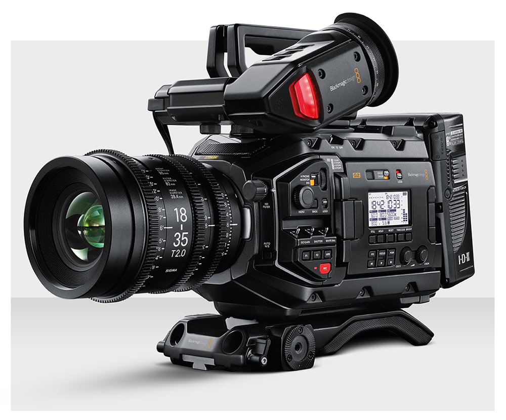 The new Ursa Mini Pro G2 is fully implemented with BRaw and offers some usable high-speed options