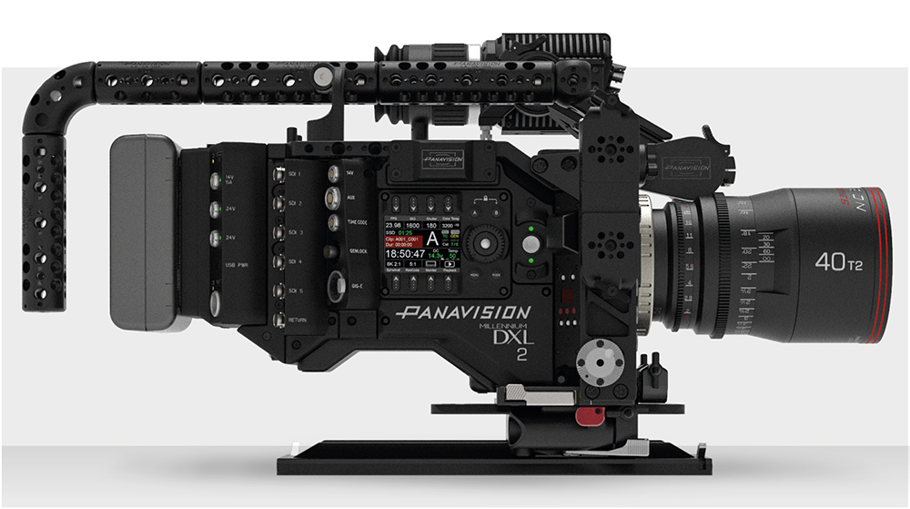 Panavision's DXL2 digital camera with award-winning LiColor2 on-board