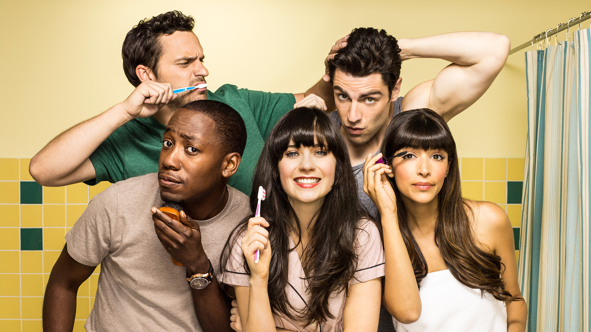 New GIrl - I wrote all of the live tweets and social posts for Seasons 3 + 4.