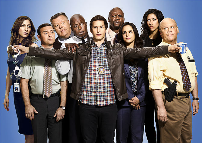Brooklyn nine nine - I wrote all of the live tweets and social posts for Seasons 1 + 2.