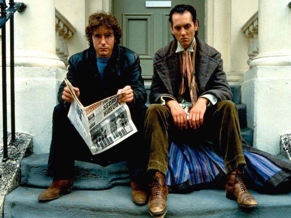 Marwood (PaulMcGann) og Withnail (Richard E.Grant) BFI
