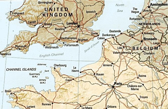 Hitler trodde angrepet ville komme ved byen Calais, de allierte angrep nær Caen …