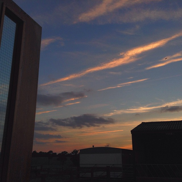 What's the most important thing about a recording studio? How good the sky is outside.