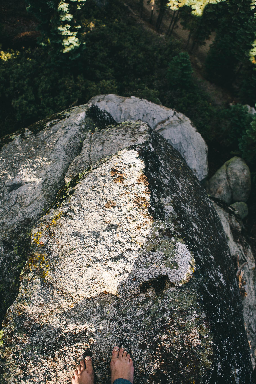 Climb barefoot
