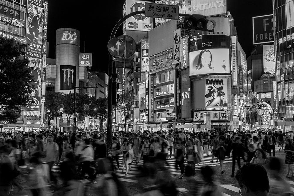 The Unnecessary Categorization of Everything (Or Why I Love Shibuya Crossing) - - The Growler Magazine