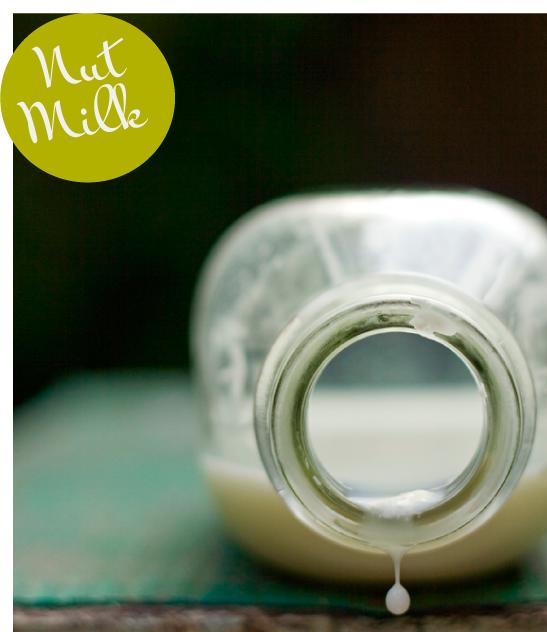 Your Basic Nut Milk Recipe