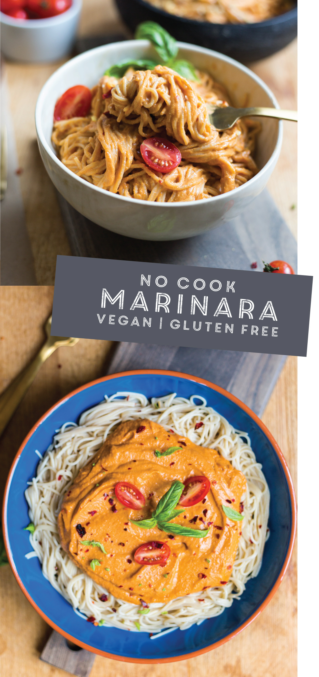 no cook marinara sauce #vegan #gluten-free #familyfriendly | ready in minutes | recipe via #puremamas