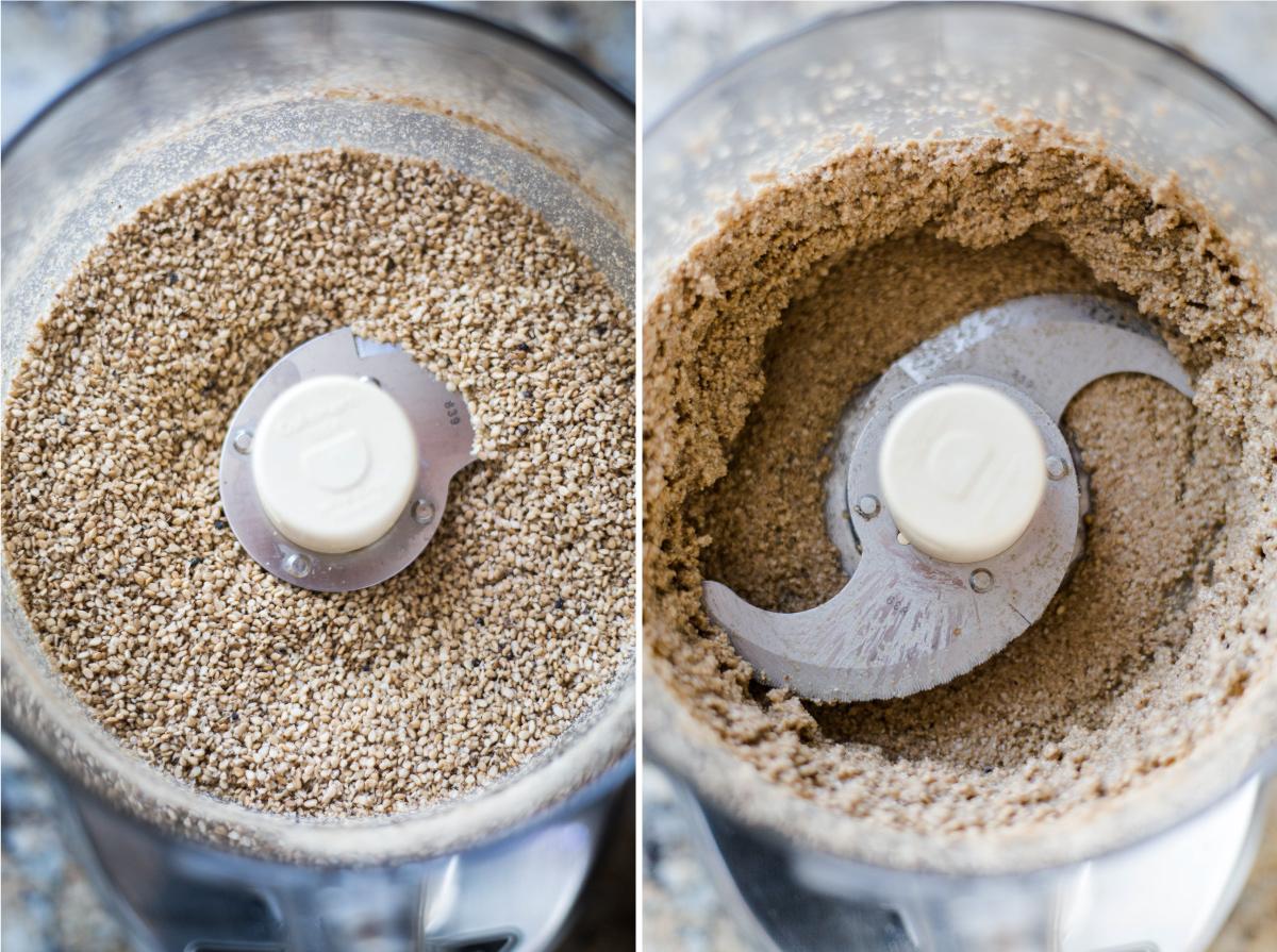homemade tahini recipe | nut free gluten-free dairy-free