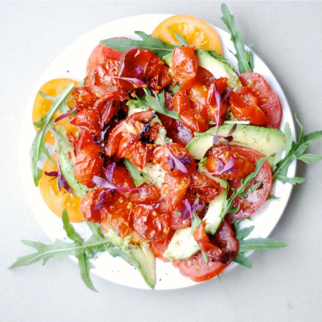 Roasted Heirloom Tomato Salad