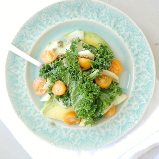 Kale Pesto Salad
