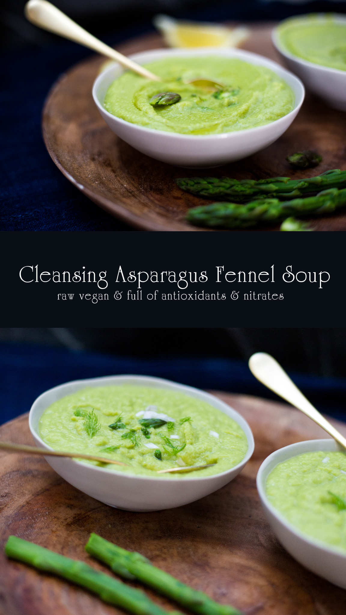 Cleansing Asparagus Fennel Soup