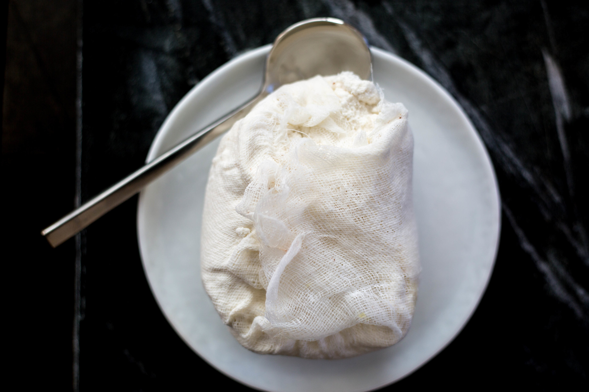 How to make Vegan Ricotta Cheese at home! #plantbasedcheese #purekitchenblog