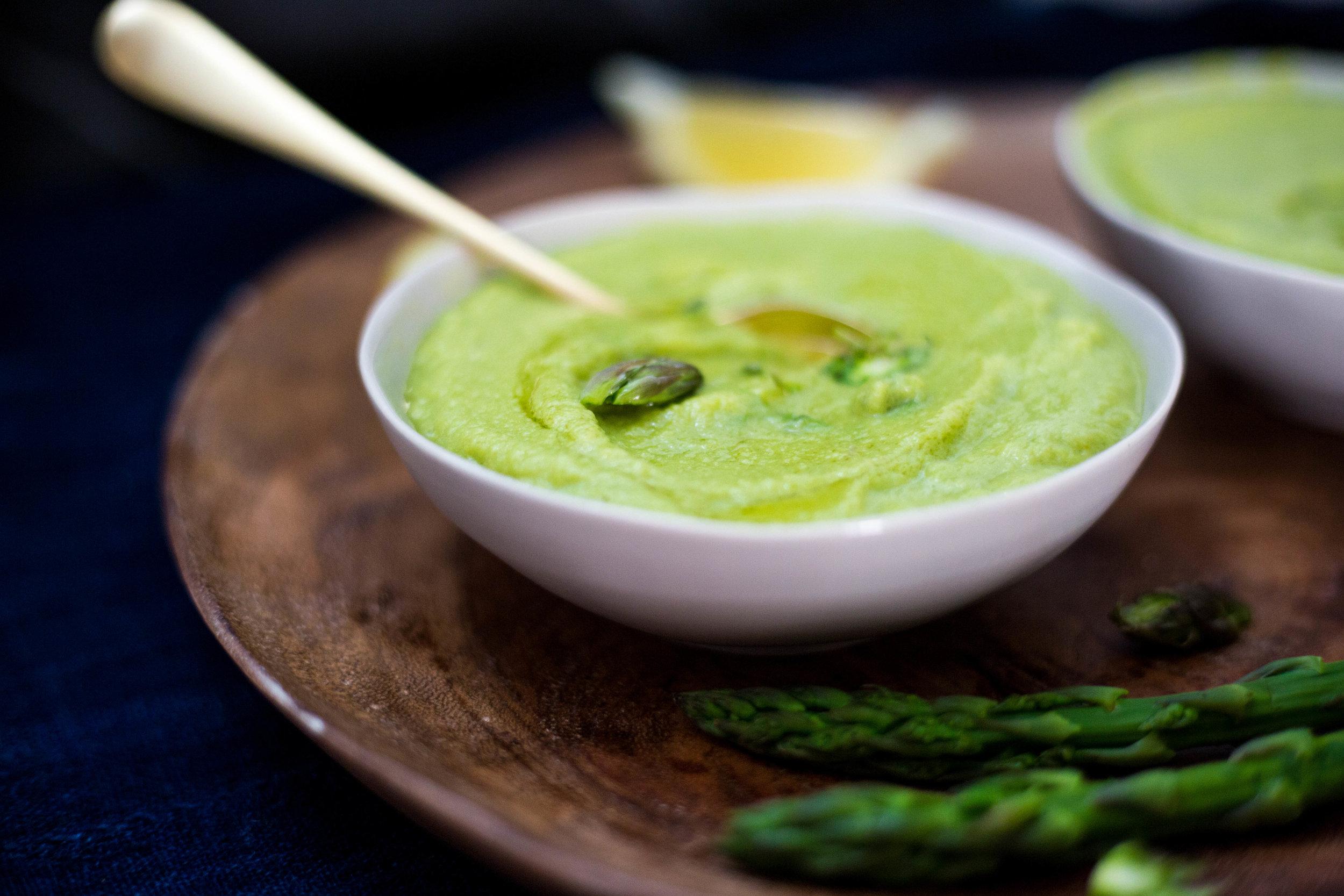 Cleansing Fennel Asparagus Soup