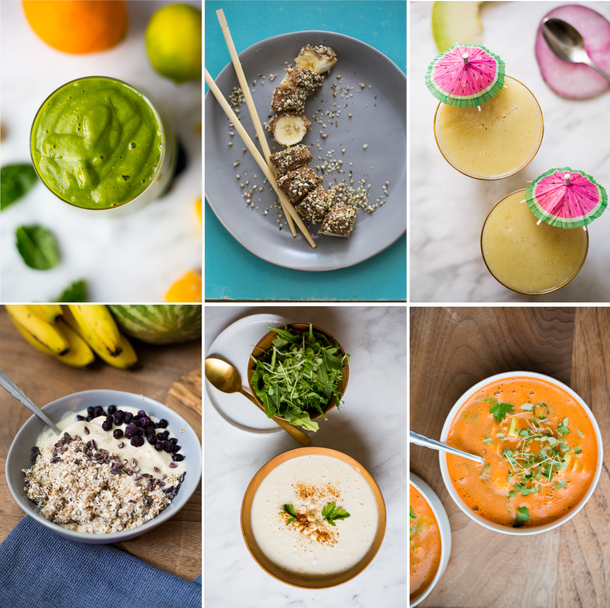 raw vegan 4 day cleanse | guide & inspiration | recipes