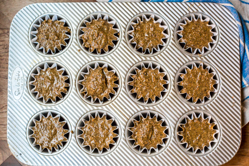 superfood buckwheat muffins | gluten-free | high protein | vegan
