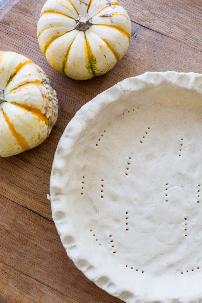 perfect vegan gluten-free pie crust