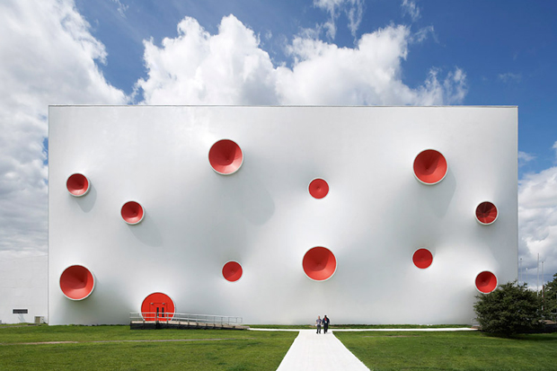 Olympic Shooting Venue, Magma Architecture