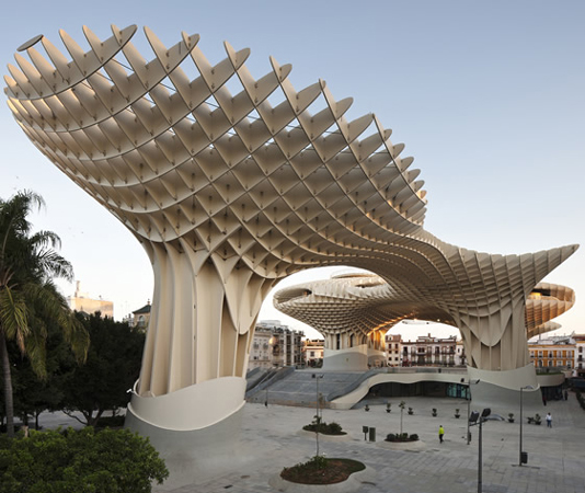 Metropol Parasol, J Mayer H Architects