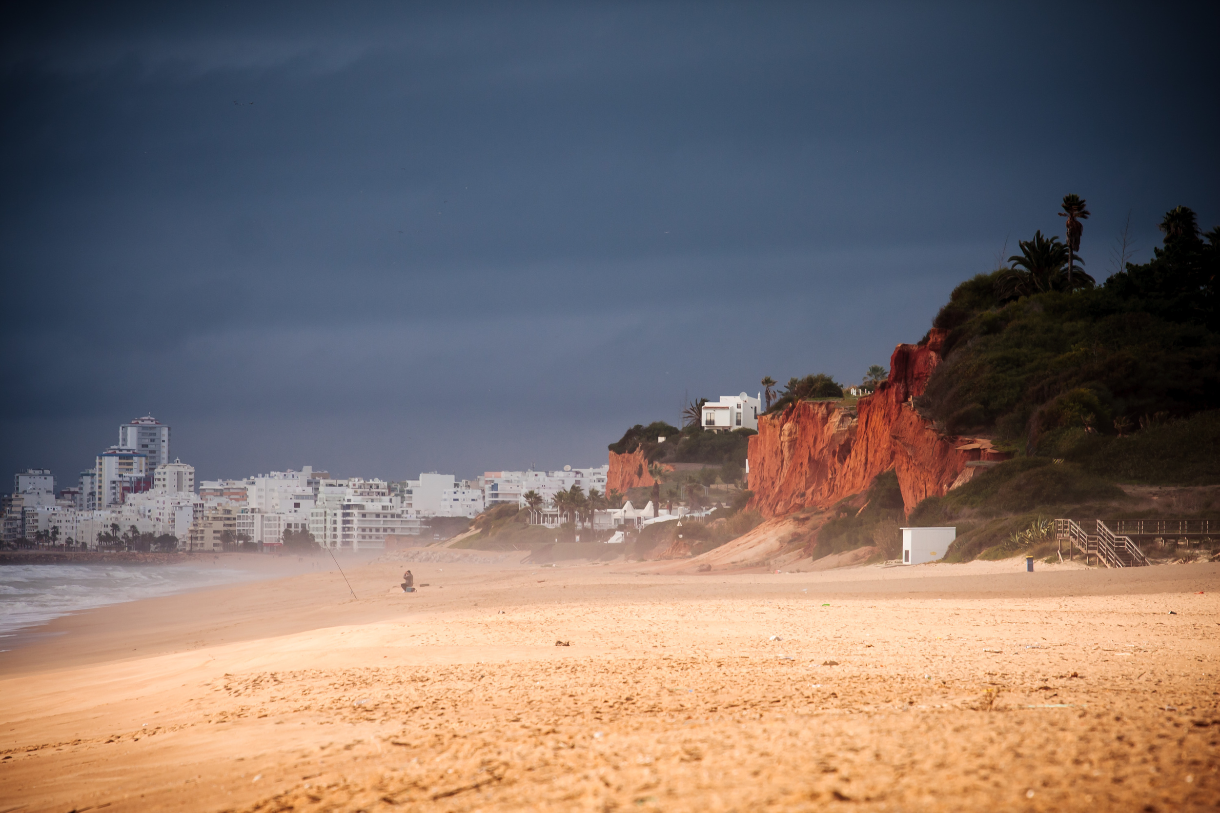 In the summer, this place is packed with bright, colourful beach paraphernalia, along with hundreds of holiday-makers