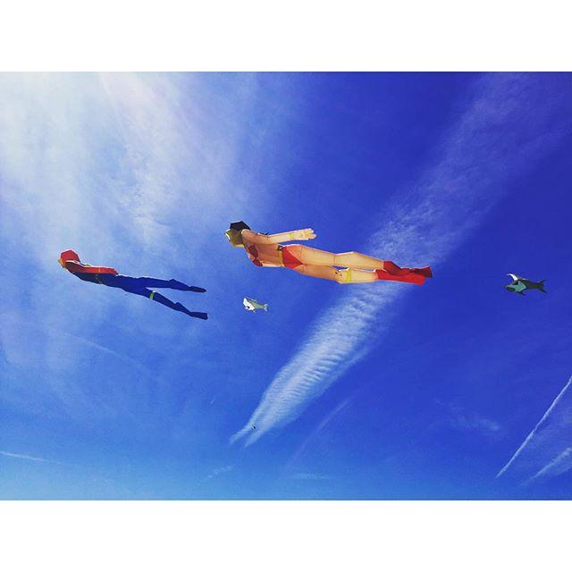 When did kites get this amazing?!?! #ogunquit #kites #wow