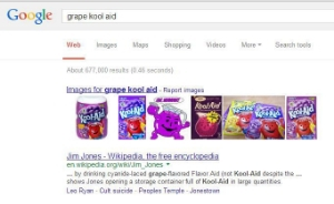 How sad, the very first entry on Google. When a brand is linked to tragedy.