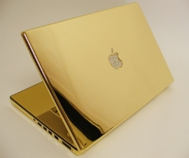 After you win your Dream Client and make a whole bunch of money, buy your team a 24k MacBook complete with diamond logo.